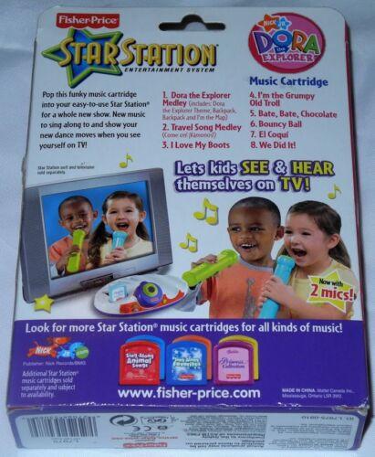 Dora The Explorer Musik Patrone 3 Fisher Price Star Station Nick Jr Jahre