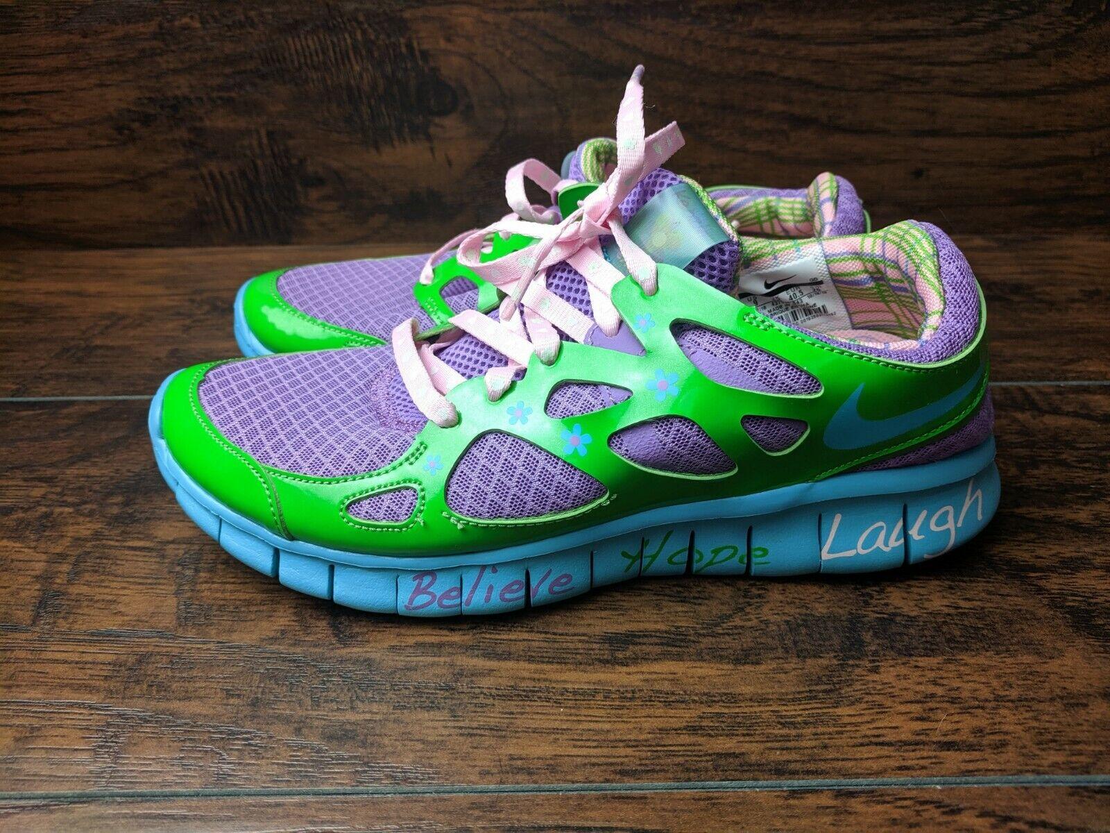 Nike Free  Run 2 DB Dimensione femminile 9 Doernebecher viola blu QS 437527 -54  a buon mercato