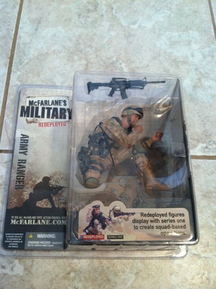 McFarlane's - Military Series 1 Army Ranger rossoeployed