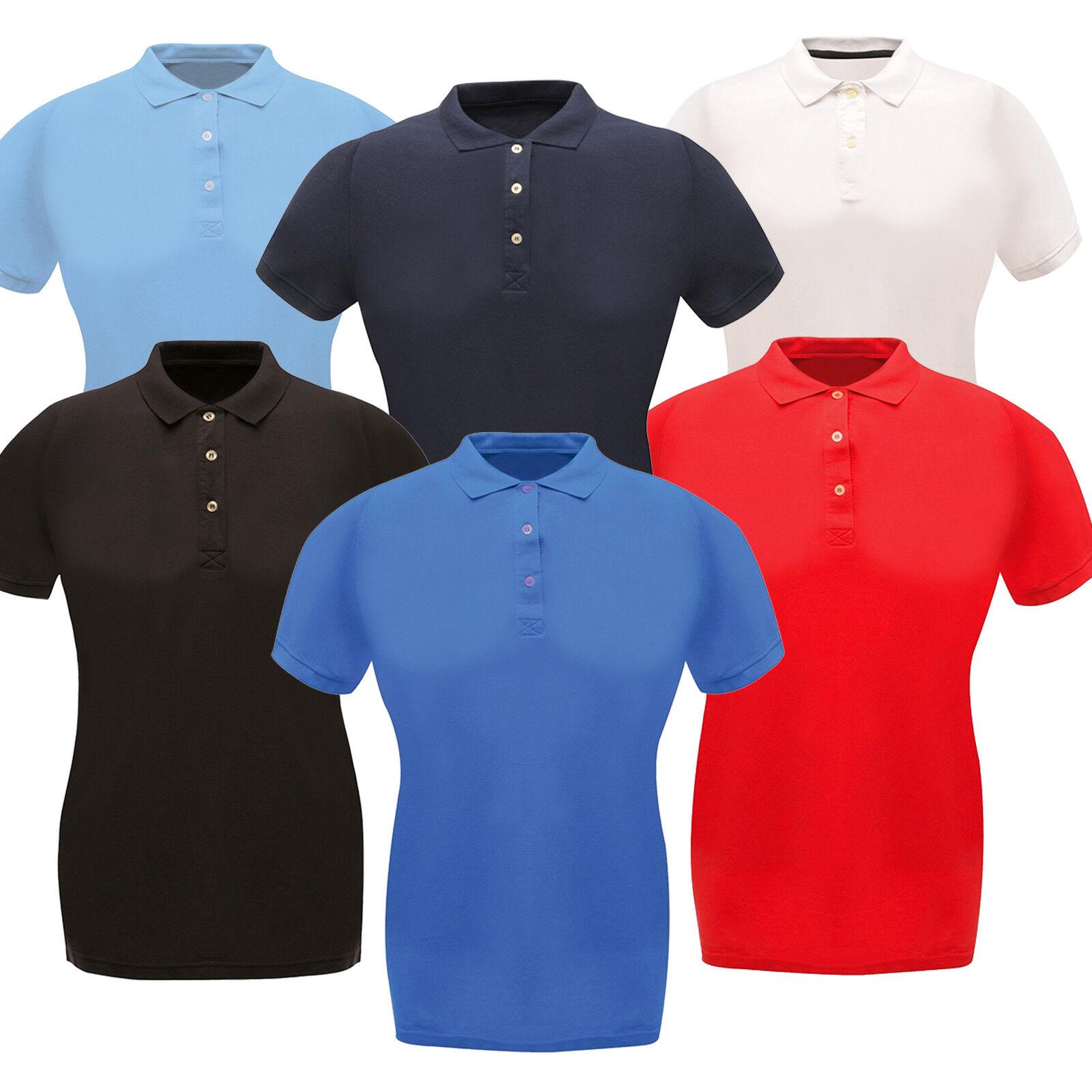 Polo Shirt Womens Regatta Shirts Classic Ladies Premium ...