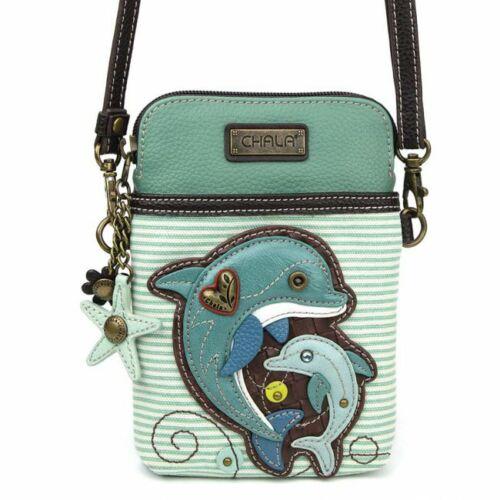 Chala Dolphin Cellphone Crossbody Handbag