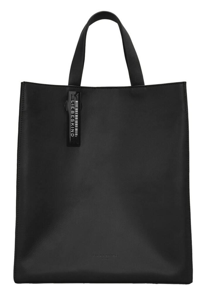 Acheter Pas Cher Liebeskind Berlin Paper Bag Tote Carter M Black Produits De Qualité Selon La Qualité