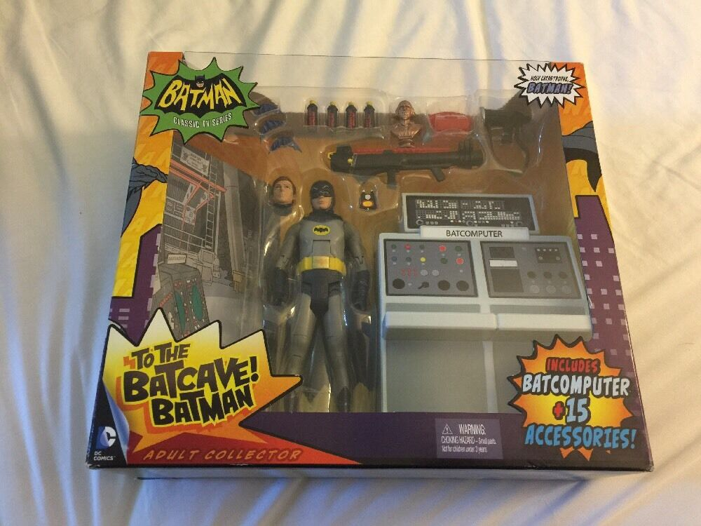 Batuomo 1966 classeic TV series To the Batcave Batcomputer Adam West