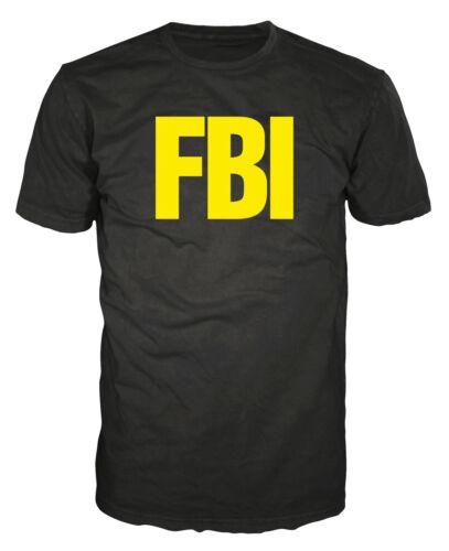 FBI Funny DEA CIA CSI Police Déguisement Blague Farce officier inspecteur T-Shirt