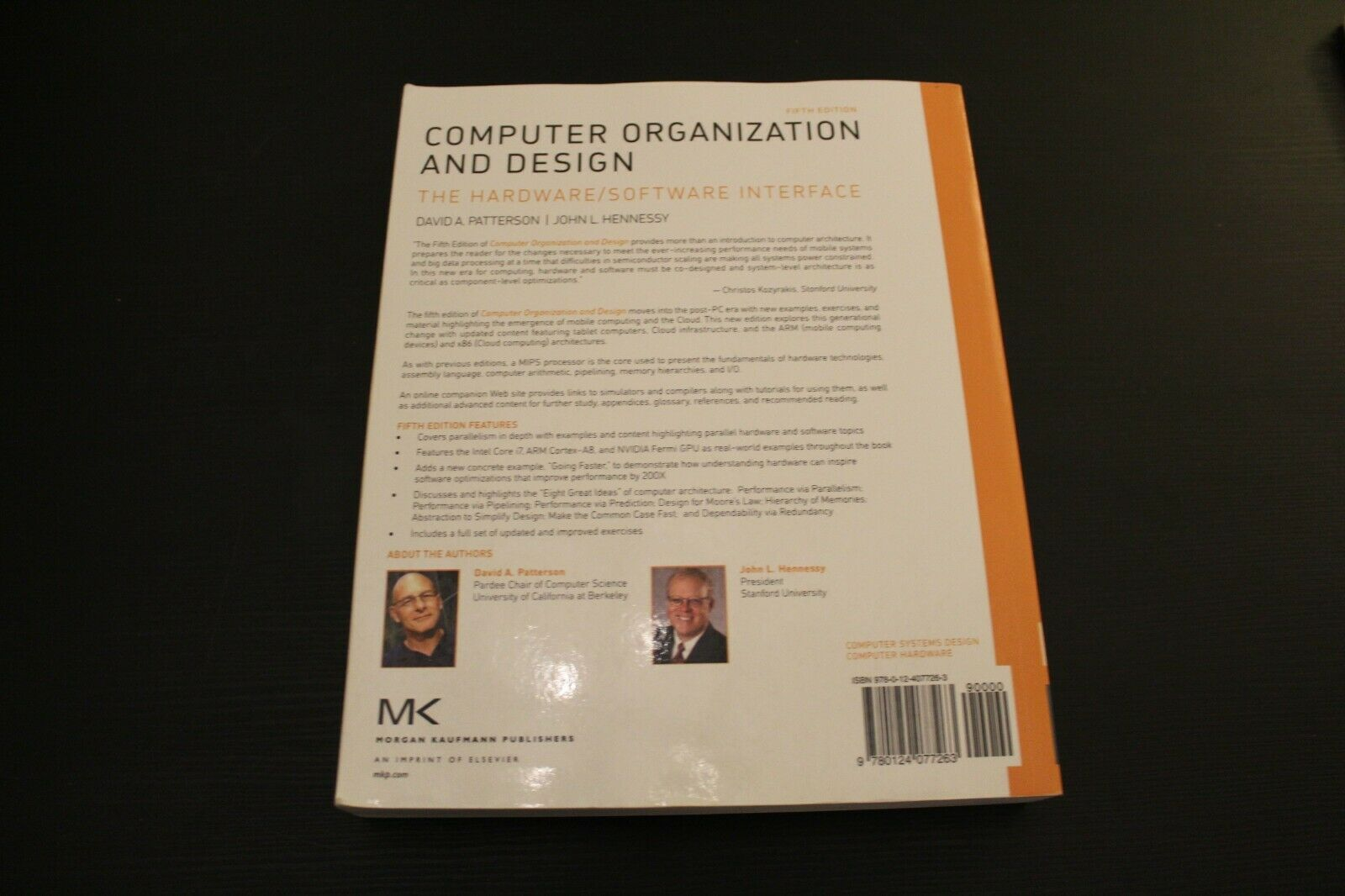 Computer Organization And Design Mips Edition The Hardware Software Interface By David A Patterson And John L Hennessy 2013 Paperback 5th Edition For Sale Online Ebay