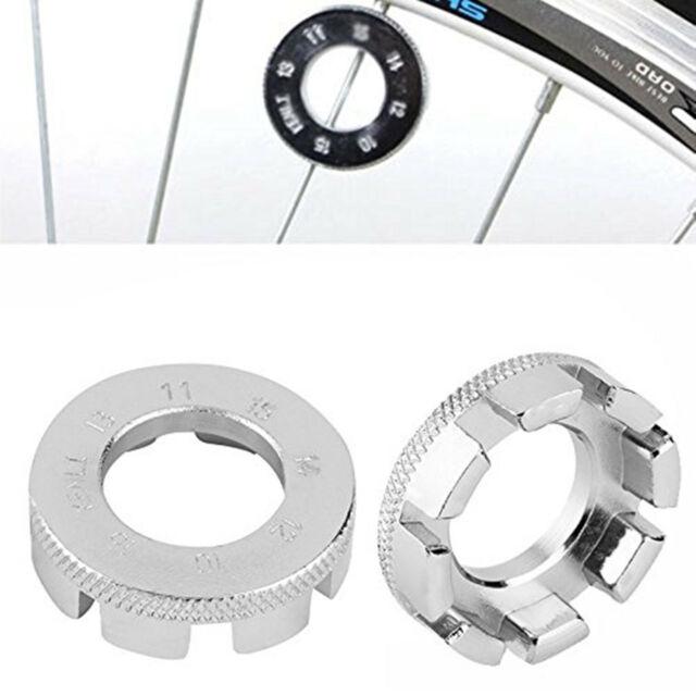 8 Way Spoke Key Push Wheel Bike//Cycle//Bicycle Rim Nipple Spanner Wrench Tool DIY