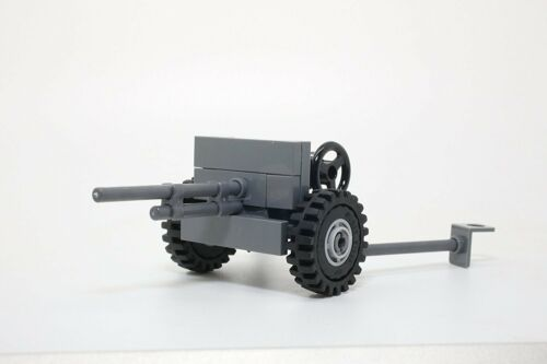World War 2 American 37mm M3 Anti-Tank Gun WW2 made with real LEGO® bricks
