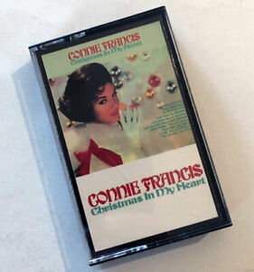 Connie Francis Christmas In My Heart Audio Cassette 1989 Holiday Music