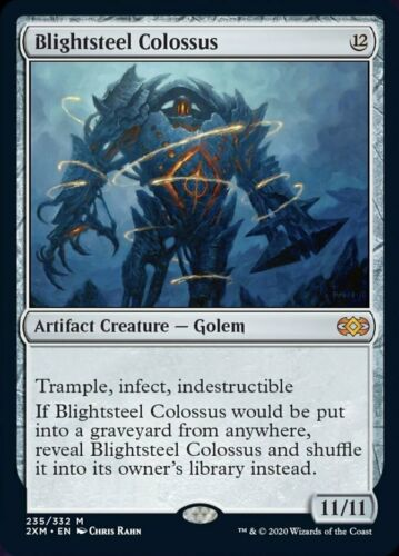 Double Masters 2XM BLIGHTSTEEL COLOSSUS *MINT* MTG Magic - Mythic Rare