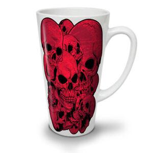Goth Metal Death Skull NEW White Tea Coffee Latte Mug 12 17 oz | Wellcoda