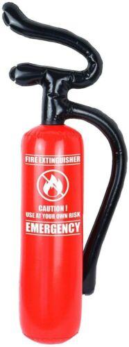Inflatable Blow up Fire Extinguisher 70cm X 17cm Novelty Dress Party Decoration