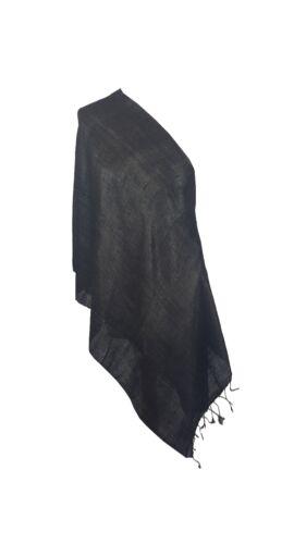 Elegant Women/'s 100/% Raw Silk Shawl Scarf Wrap