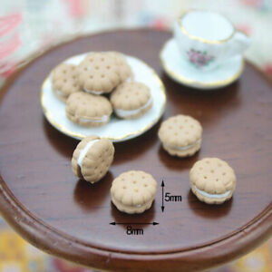 1-12-Miniature-Sandwich-Biscuit-Dollhouse-Diy-Doll-House-Decor-Accessories-m-Jf