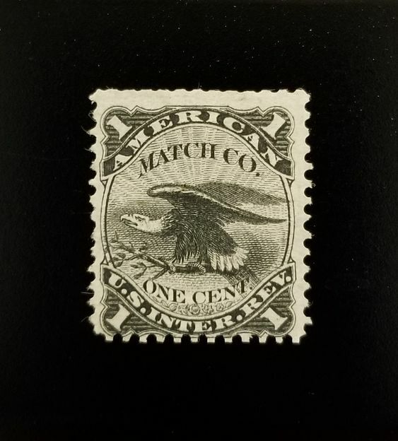 American Match Co. 1c U.S.A. Internal Revenue RO12a Pri
