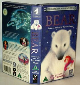 The-Bear-Collectors-Edition-C4-Children-039-s-VHS-Tape-amp-Case-VHS-Collectable