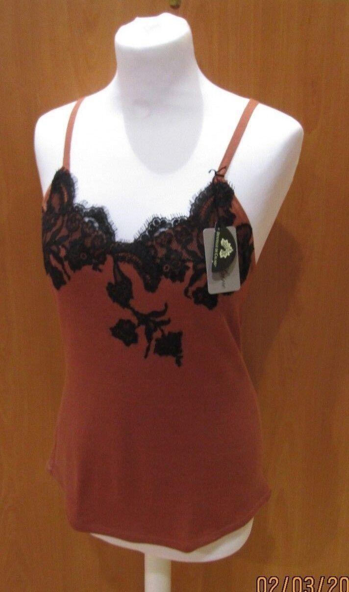 CARACO MARJOLAINE modèle AIMEE 50%SOIE 50%COTON color EPICE black size 38
