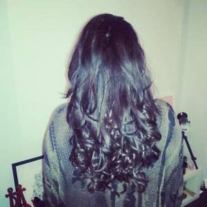 One-Piece-Clip-In-Hair-Extensions-20-034-Dip-Dye-Ombre-THICK-like-human