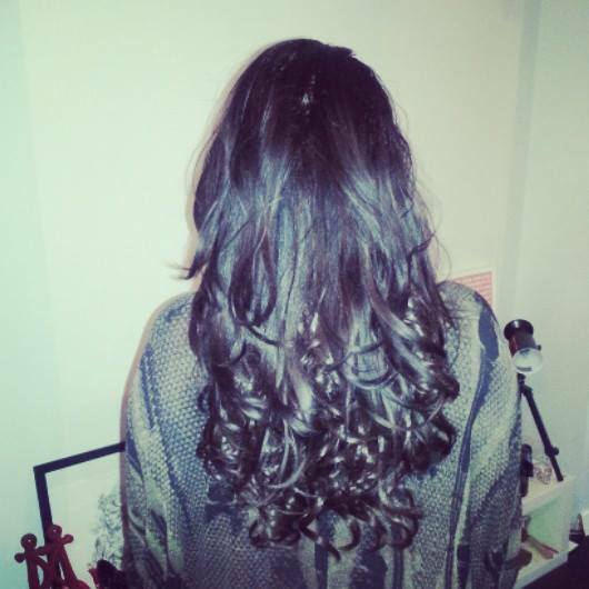 """One Piece Clip In Hair Extensions 20"""" Dip Dye/Ombre THICK like human"""