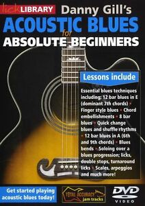 Details about LICK LIBRARY ACOUSTIC BLUES FOR ABSOLUTE BEGINNERS Learn to  Play GUITAR DVD 0436