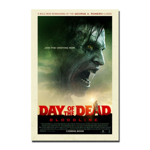 Day of the Dead Bloodline 2018 Movie Silk Fabric Poster Art Print 12x18 24x36