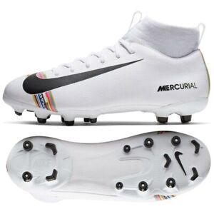 profesjonalna sprzedaż różne kolory Cena hurtowa Details about Shoes Nike JR Mercurial Superfly 6 Academy GS CR7 AJ3111 109  white 38 1/2 Socc