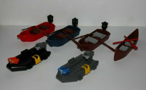 Dinghy Raft Mini Figure Accessory Multiple Variations! Lego Boat