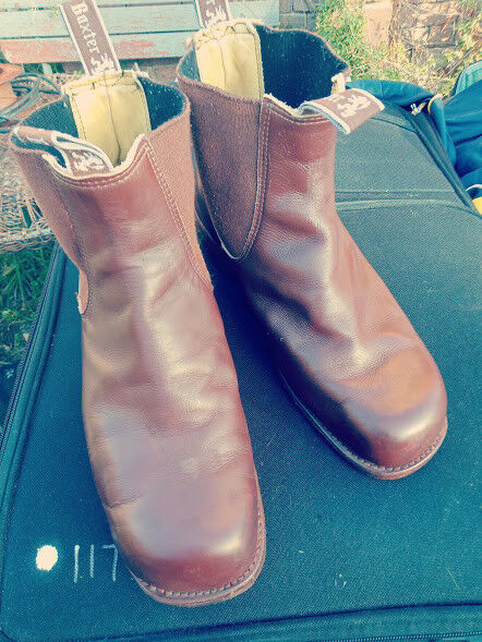 Gentleman/Lady BAXTER SQUARE TOE BOOTS SIZE UK7.5 Year-end special promotions Skilled manufacturing Vintage tide shoes