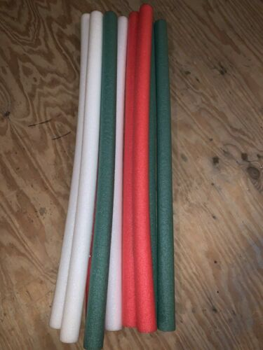 """3 X POOL NOODLES 48/"""" VARIETY COLORS WITH CORE HOLE-USE FOR SWIMMING ACTIVITIES"""
