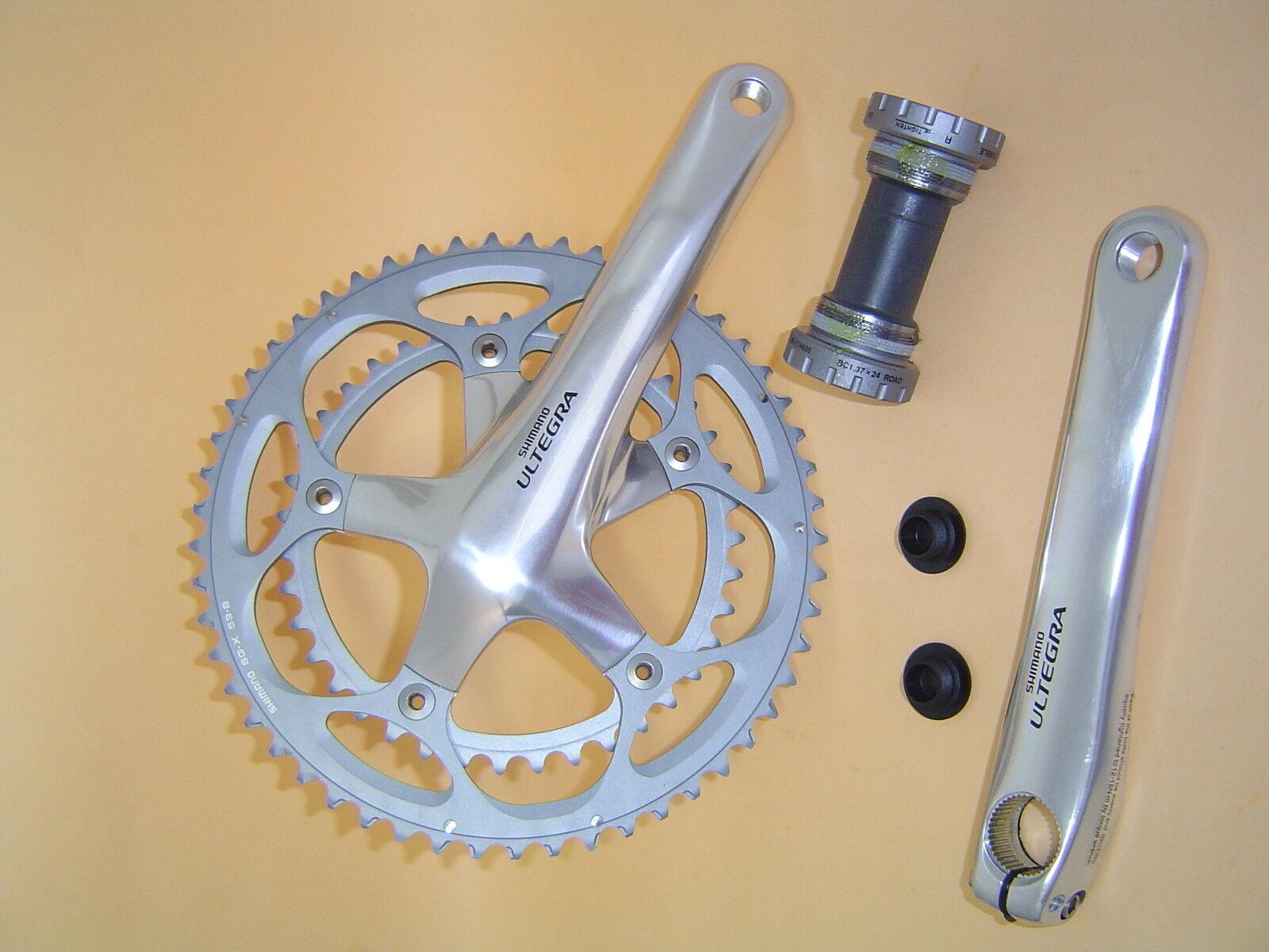 Shimano Ultegra FC-6600 2 x 10 Kurbelgarnitur 172,5mm 53 39  NEU