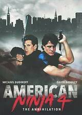 AMERICAN NINJA 4: ANNIHILATION-AMERICAN NINJA 4: THE ANNIHILATION  DVD NEW
