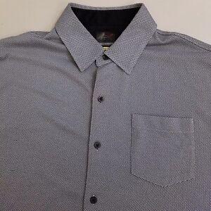 Greg-Norman-Short-Sleeve-Golf-Shirt-Men-039-s-Size-XL-Extra-Large-Gray-Play-Dry
