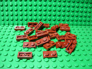** 25 CT LOT **  Lego NEW dark red 1 x 6 plate pieces   Lot of 25