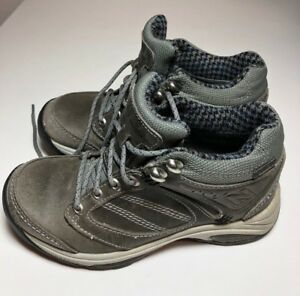 104bf7d693087 New Balance Gray Women's WW1569 Country Walking Hiking Boots Shoes ...