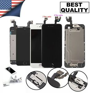 Lcd Accembly Digitizer Complete Screen Replacement For iPhone 6 6S 7 8 PLUS LOT