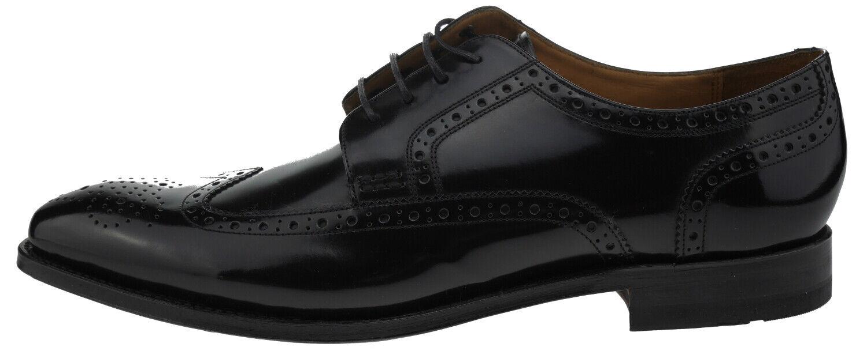 108149-450 Gordon & Bros Fabian 5093a Leder Business Schnürer black EUR 45