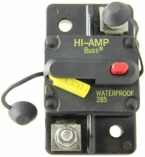 WEEMS /& PLATH DC CIRCUIT BREAKER PANEL 8 POSITION 5 BREAKERS 12 volt Marine