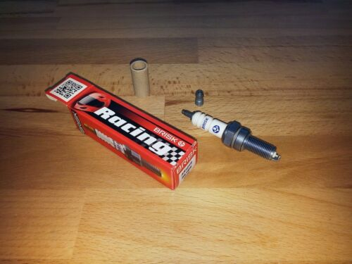 1x Kawasaki KX450F y2006-2015 = Brisk Performance YS Silver Upgrade Spark Plugs
