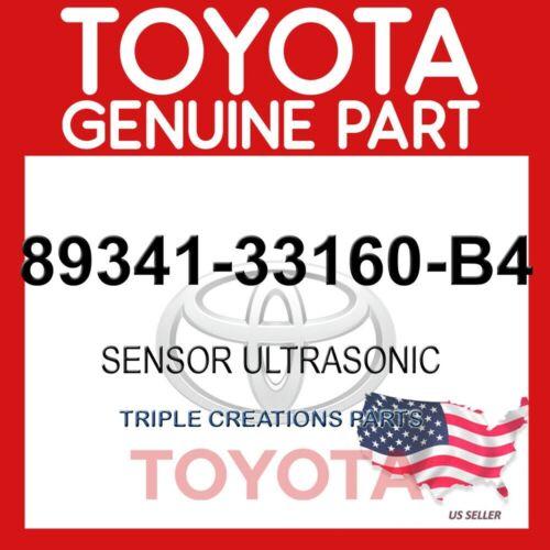 ULTRASONIC 89341-33160-B4 GENUINE OEM TOYOTA SENSOR