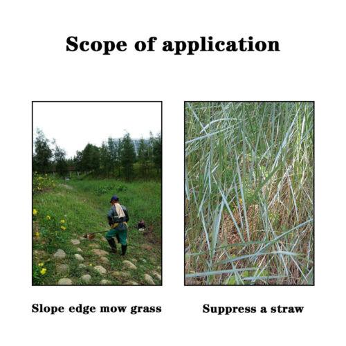 Lawn Mower Grass Eater Trimmer Head Brush Cutter for Garden Steel 148MM Length