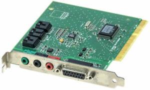 Carte-SON-CREATIVE-PCI-ES1371