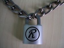 Sex pistols Sid Vicious 'R' Rabbit padlock & chain + 2 keys