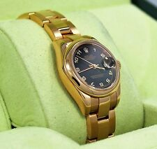Rolex President 179165 New Style 18K Rose Gold Datejust Oyster Ladies Watch MINT