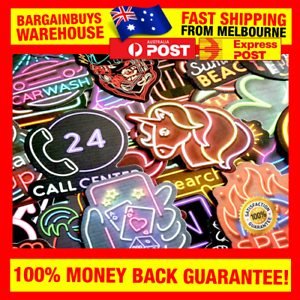 50pcs-Neon-Sign-Stickers-Cool-Neon-Light-Sticker-for-Laptop-Suitcase-Guitar