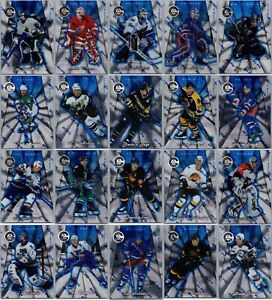 1997-98 PINNACLE TOTALLY CERTIFIED PLATINUM BLUE - PICK SINGLES - FINISH SET SP