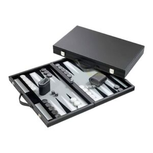 Backgammon - Boîte Manus Similicuir Standard