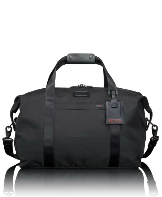 30a2f0ad97 Tumi Black Ballistic Nylon Weekender Travel Duffel Satchel 022149de ...