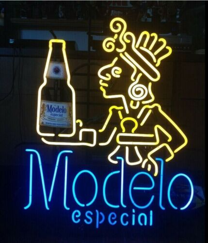 Neon Light Modelo Especial Beer Bar Pub Party Store Room Wall Decor Signs Gift