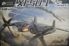 """1/48 Vought XF5U-1 """"Flying Flapjack"""" model Kit by Kitty Hawk Models"""
