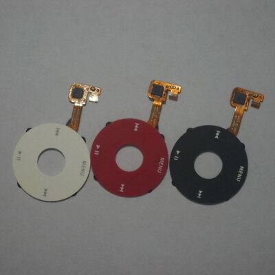 Click Wheel w// Flex Ribbon iPod Classic Black 6th 7th Gen 80 120 160gb U2