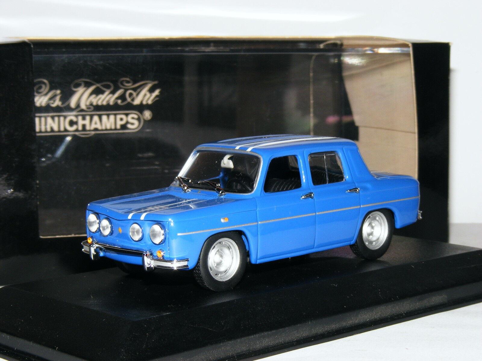 Minichamps 1964 Renault 8 Gordini bluee 1 43